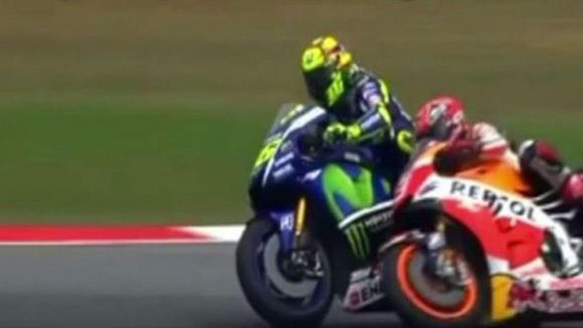 Valentino Rossi vs Marquez
