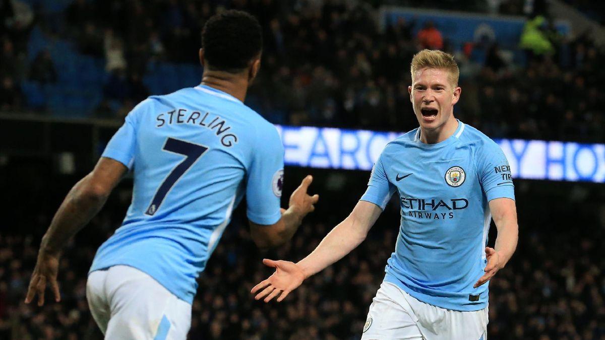 Sterling şi De Bruyne sunt poate cei mai buni jucători ai lui Manchester City