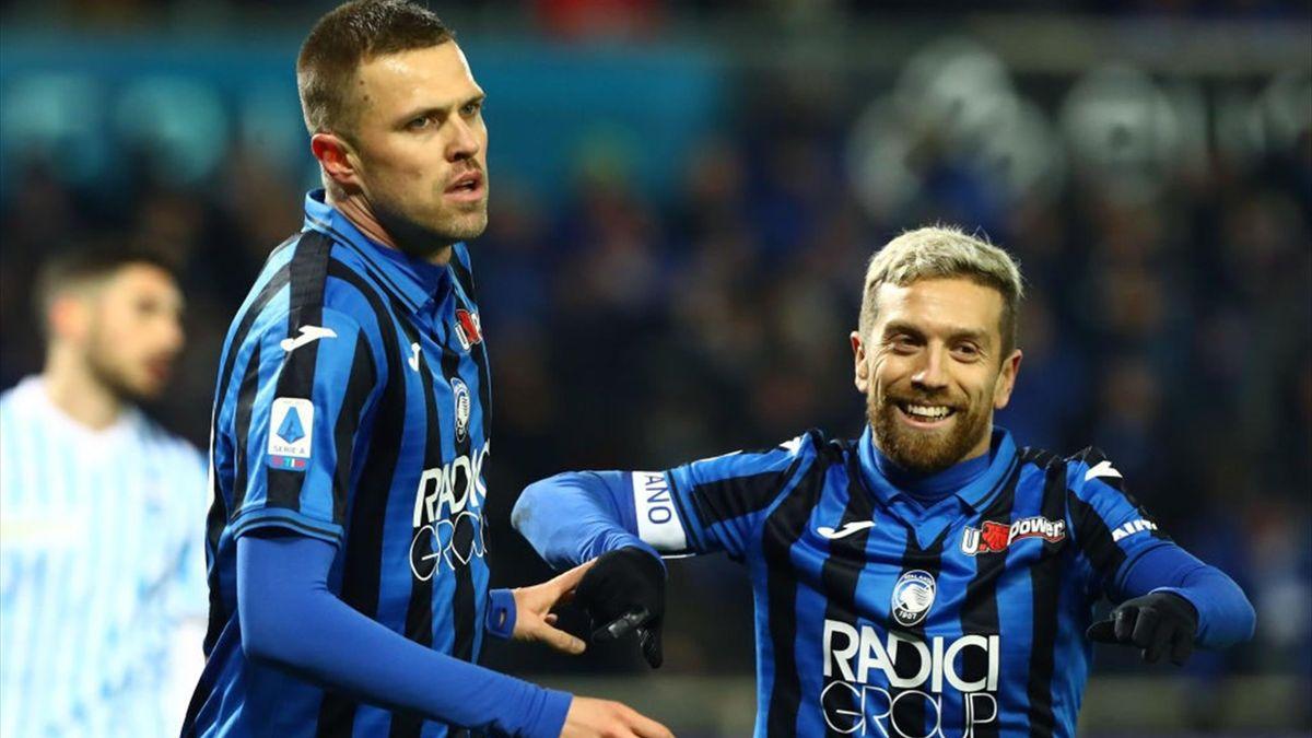 Ilicic, Gomez - Atalanta-SPAL - Serie A 2019/2020 - Getty Images