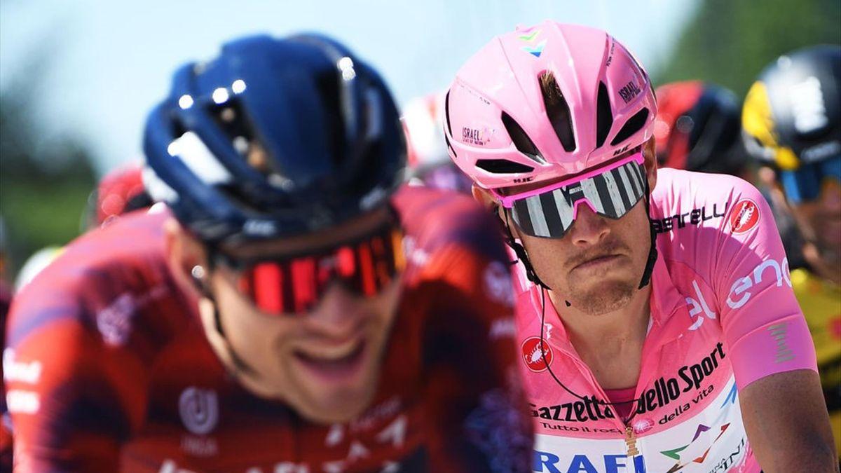 Alessandro De Marchi durante la tappa di Cattolica - Giro d'Italia 2021