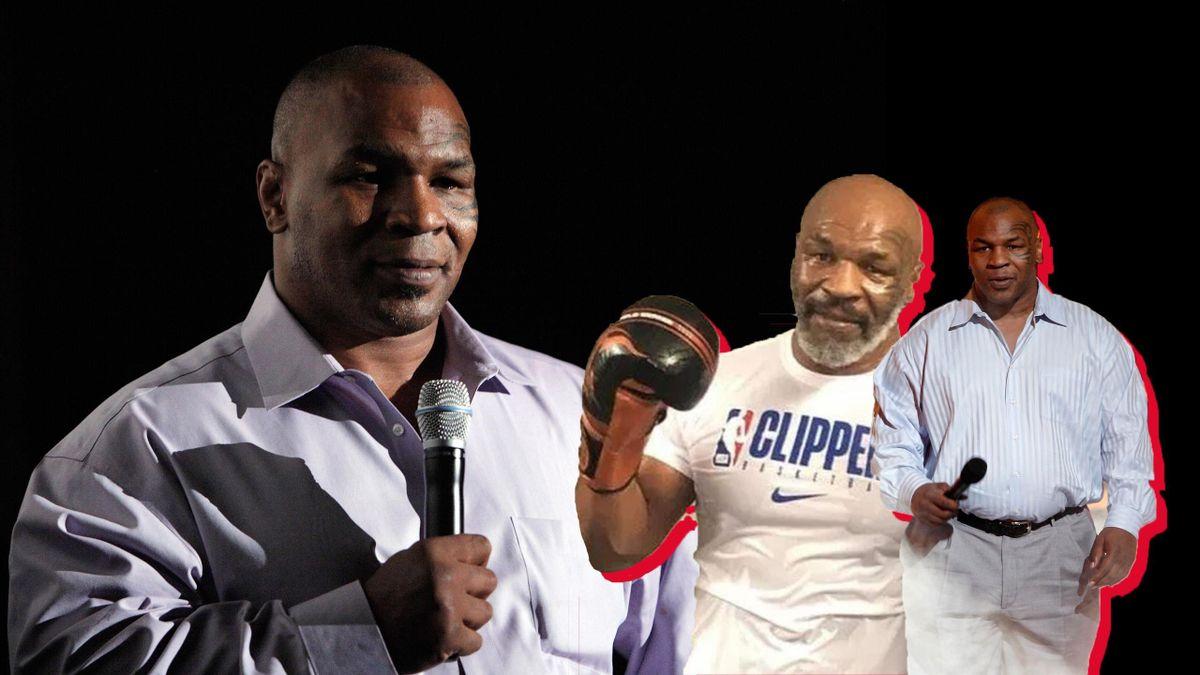 Mike Tyson arată incomparabil mai bine decât acum un deceniu