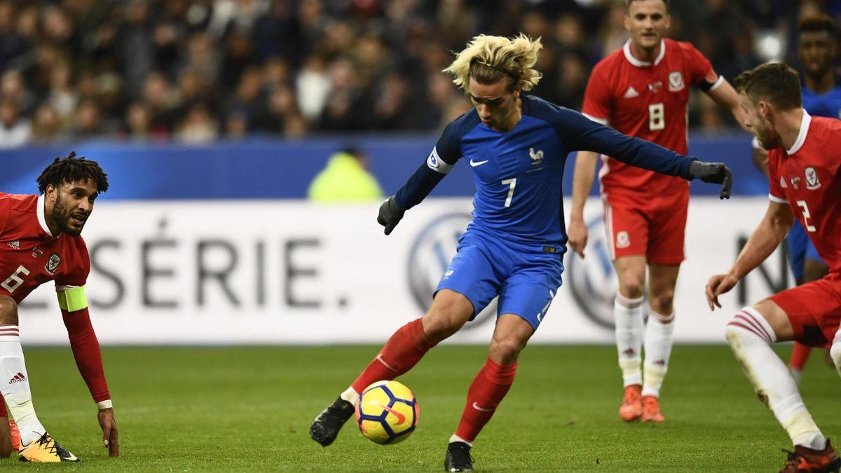 Frankreich Testspiel