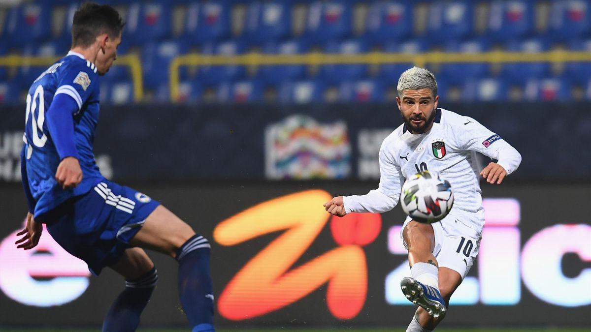 Lorenzo Insigne, Bosnia-Italia, Nations League, Getty Images