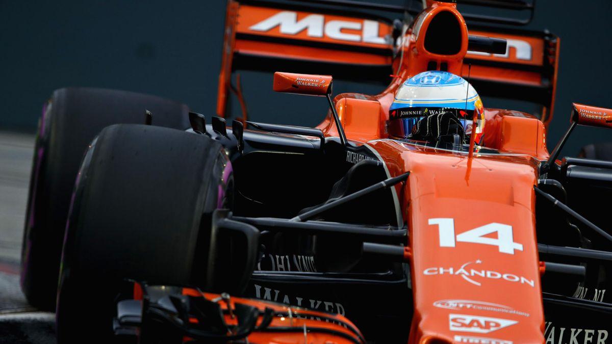 Fernando Alonso (McLaren) - Grand Prix of Singapore 2017