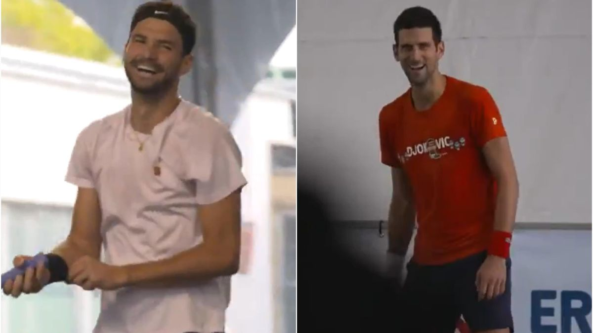 Grigor Dimitrov & Novak Djokovic