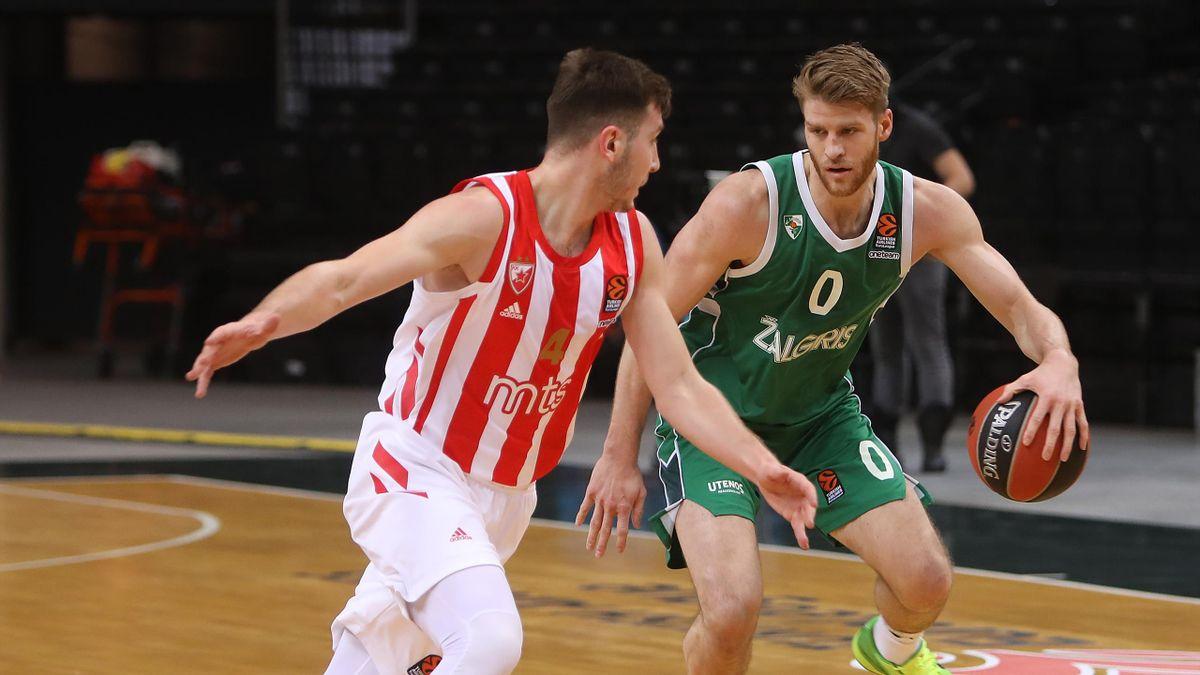 Thomas Walkup, Zalgiris Kaunas-Stella Rossa, Eurolega 2020-21