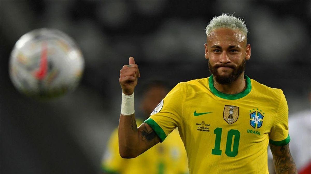 Neymar Jr. - Brasil-Perú - Copa América 2021