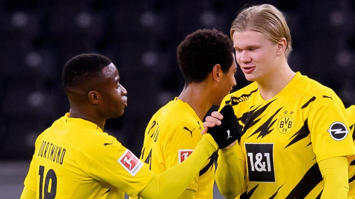BVB: Moukoko und Haaland