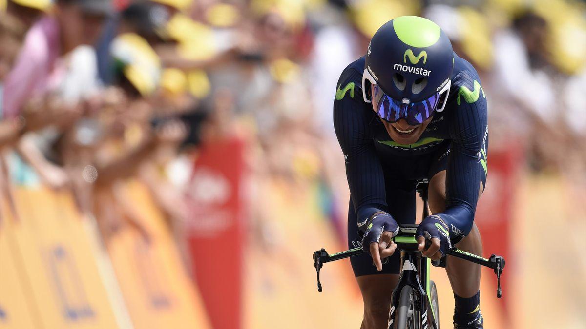Nairo Quintana sur le contre-la-montre d'Utrecht Tour de France
