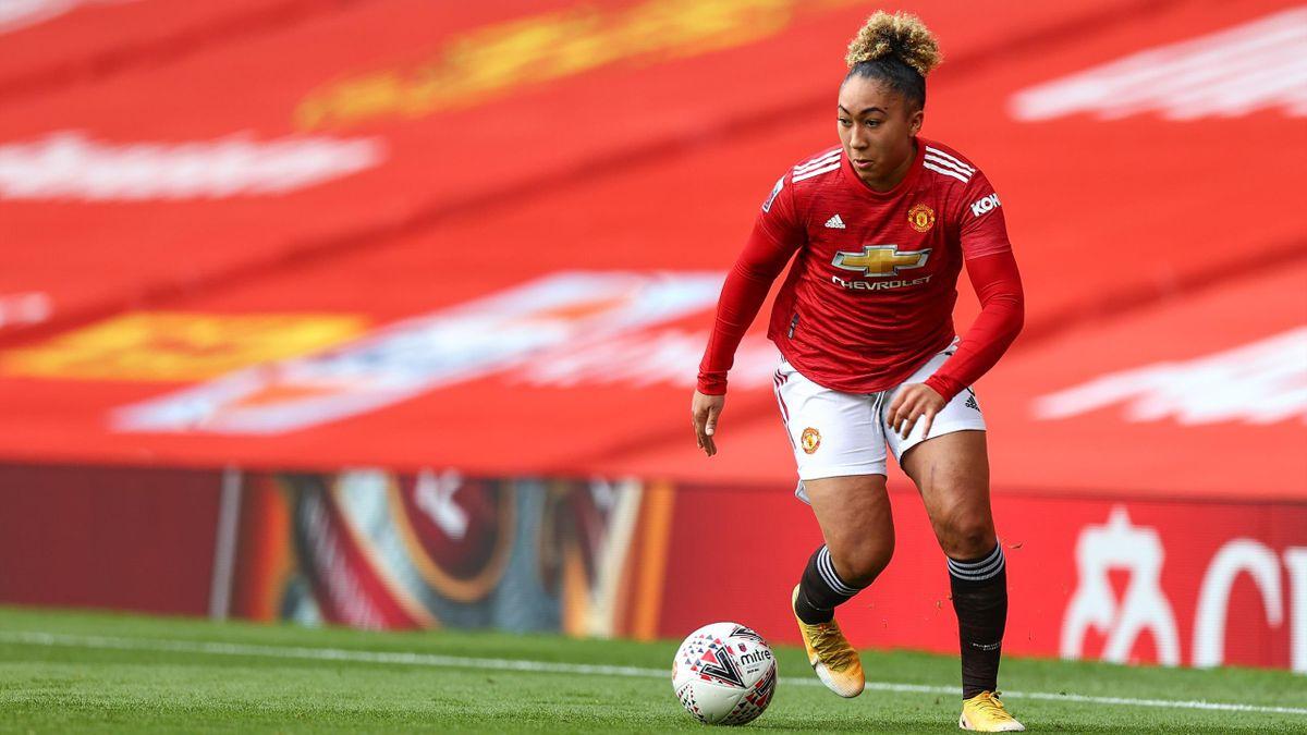 Lauren James scored in Manchester United's WSL win