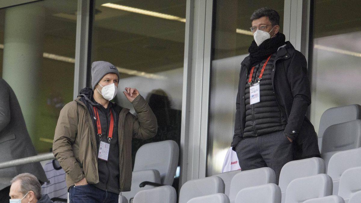 Der Machtkampf beim VfB Stuttgart geht weiter: Präsident Cluas Vogt (rechts) und der Vorstandsvorsitzende Thomas Hitzlsperger