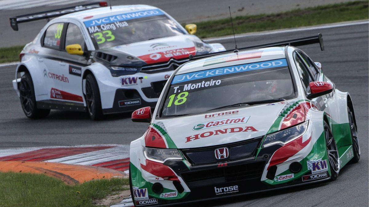 60 Kilogramm Zusatzgewicht für Honda und Citroen am Slovakiaring