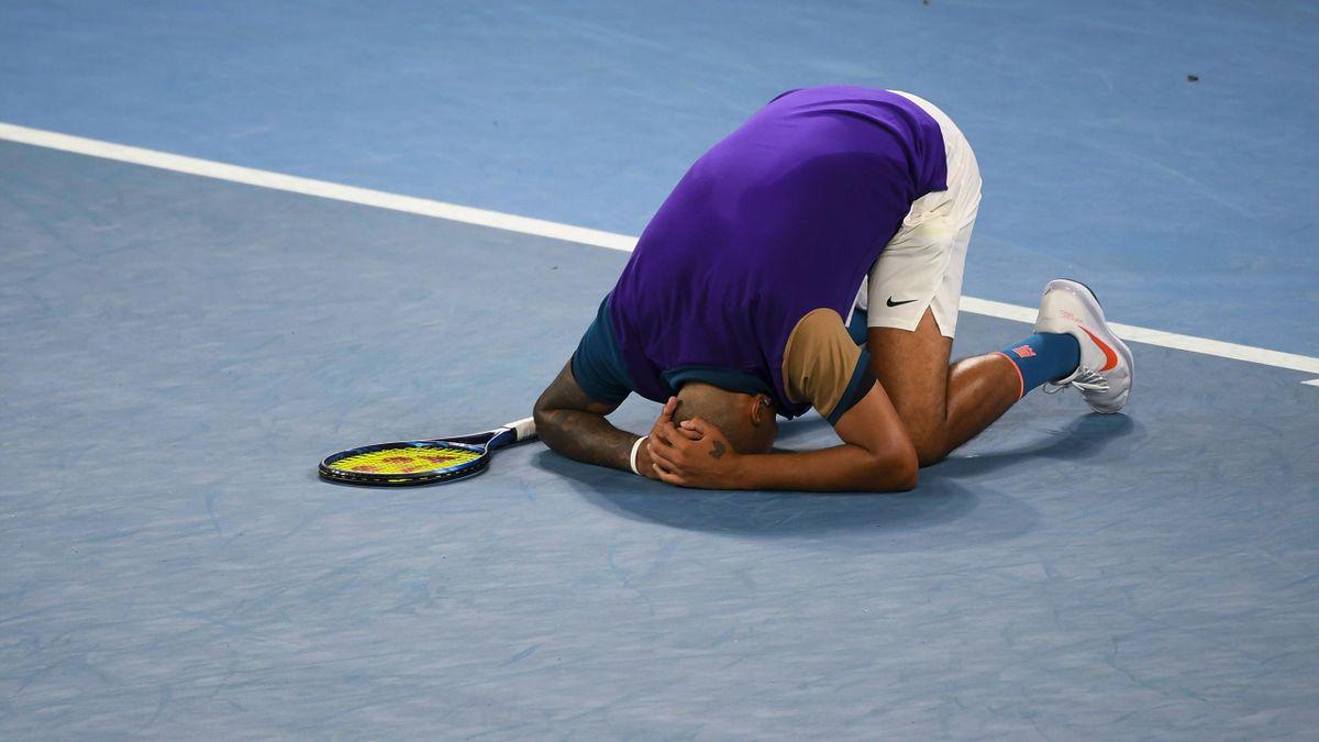Nick Kyrgios bei den Australian Open