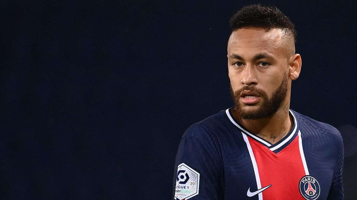 Neymar lors du match opposant le Paris Saint-Germain à l'Olympique de Marseille, le 13 septembre 2020