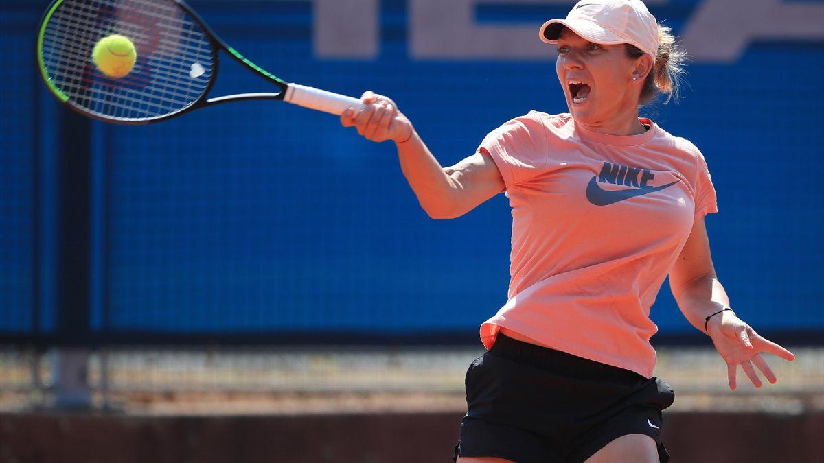 Simona Halep revine pe teren la turneul de la Praga