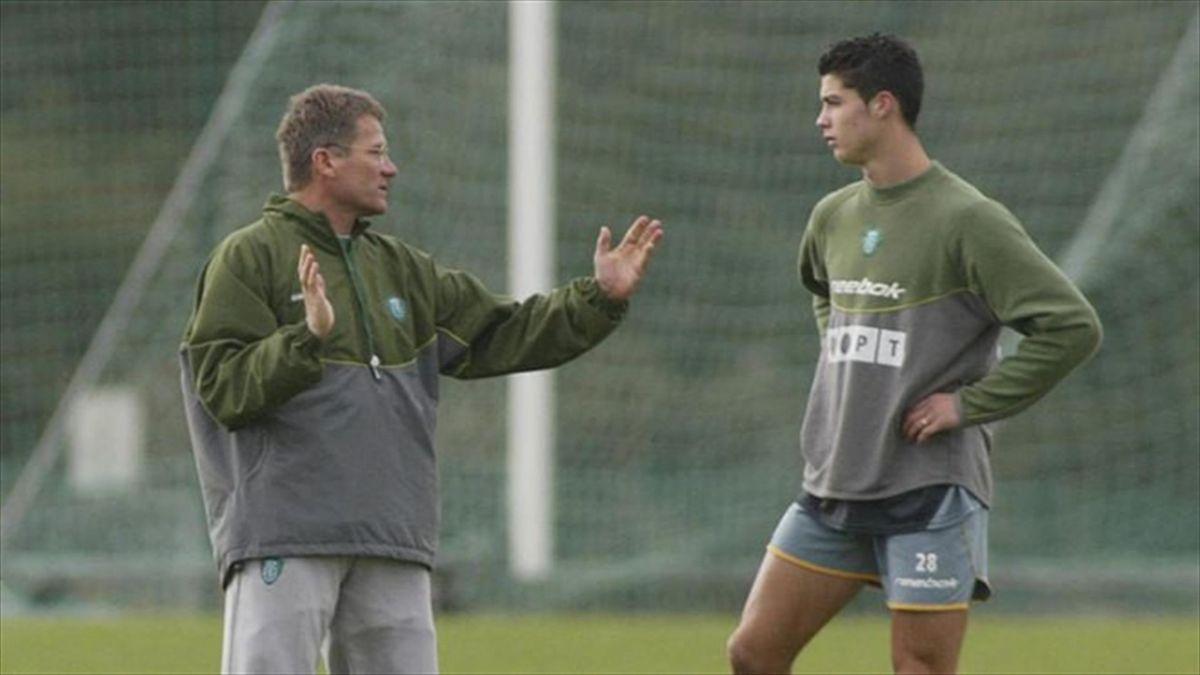 Loti Boloni și Cristiano Ronaldo la Sporting (sursa: Journal Record)