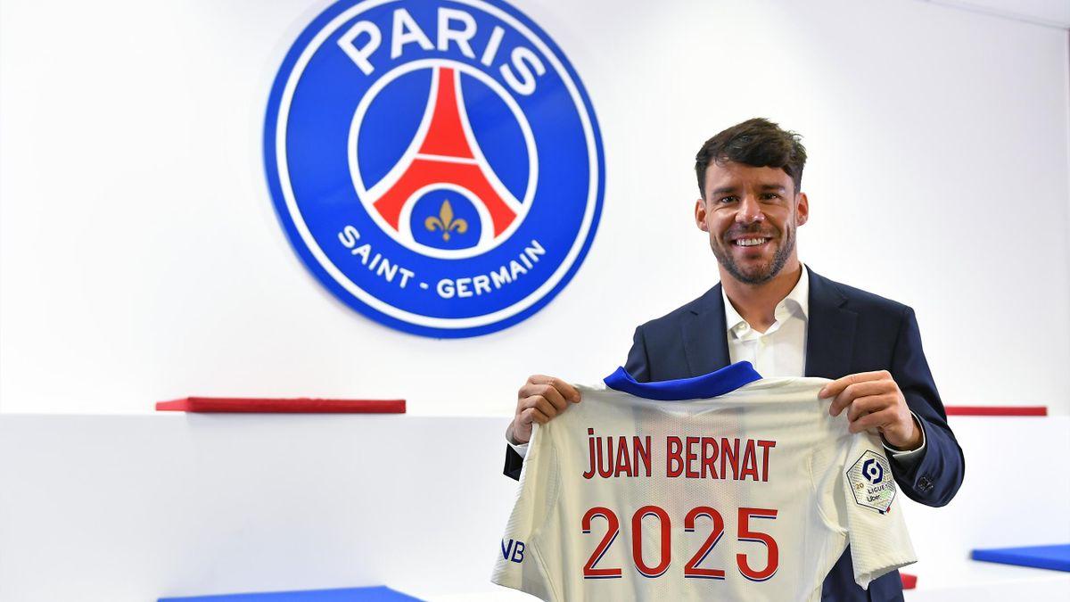 Juan Bernat hat bei PSG bis 2025 verlängert
