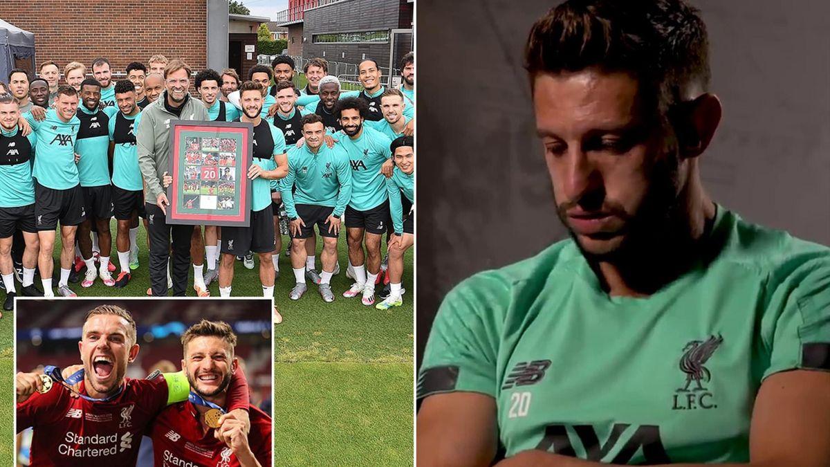 Adam Lallana, despărțire în lacrimi de Liverpool