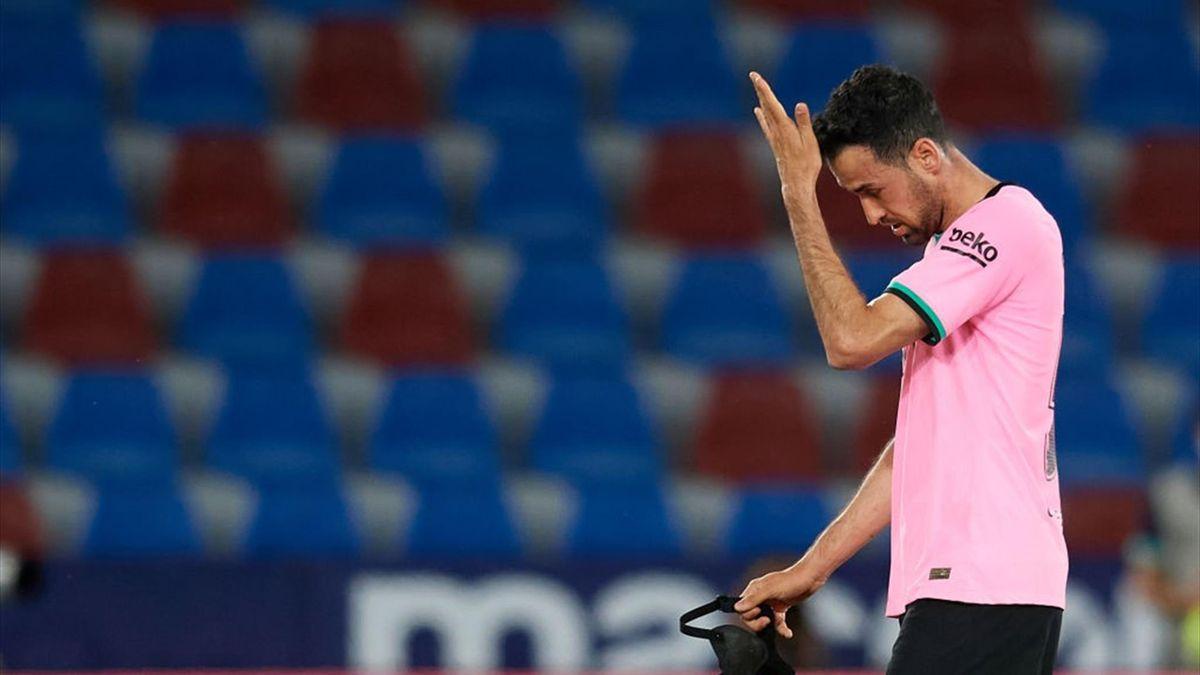 Sergio Busquets vom FC Barcelona