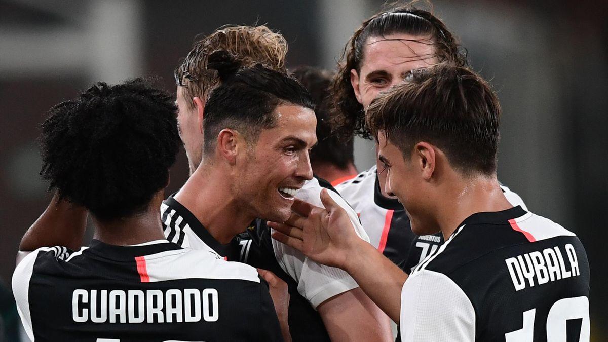 Ronaldo et Dybala ont marqué face au Genoa.