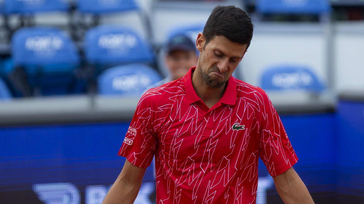 Novak Djokovic bei der Adria Tour