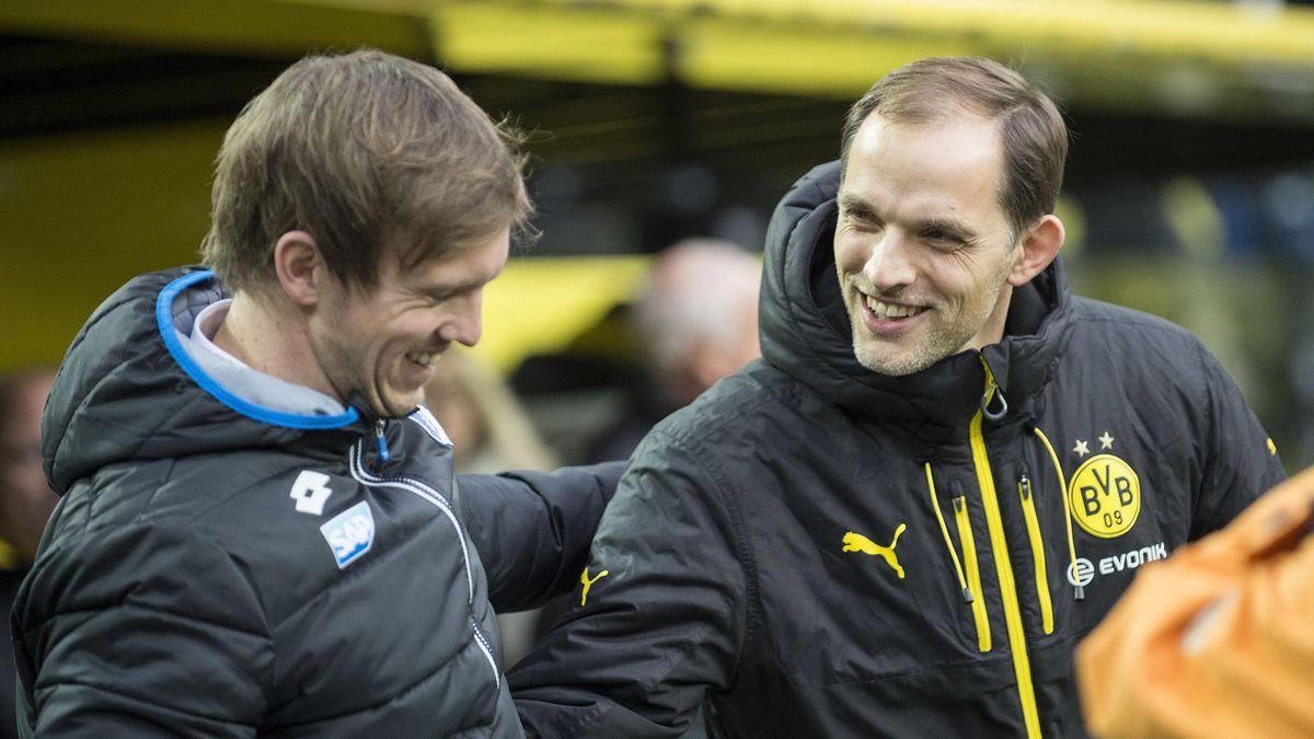Nagelsmann a fost elevul lui Tuchel la echipa a 2-a a lui augsburg în 2008