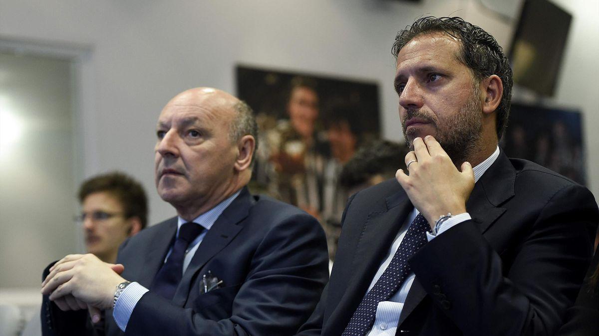 Fabio Paratici, Beppe Marotta, Juventus, LaPresse