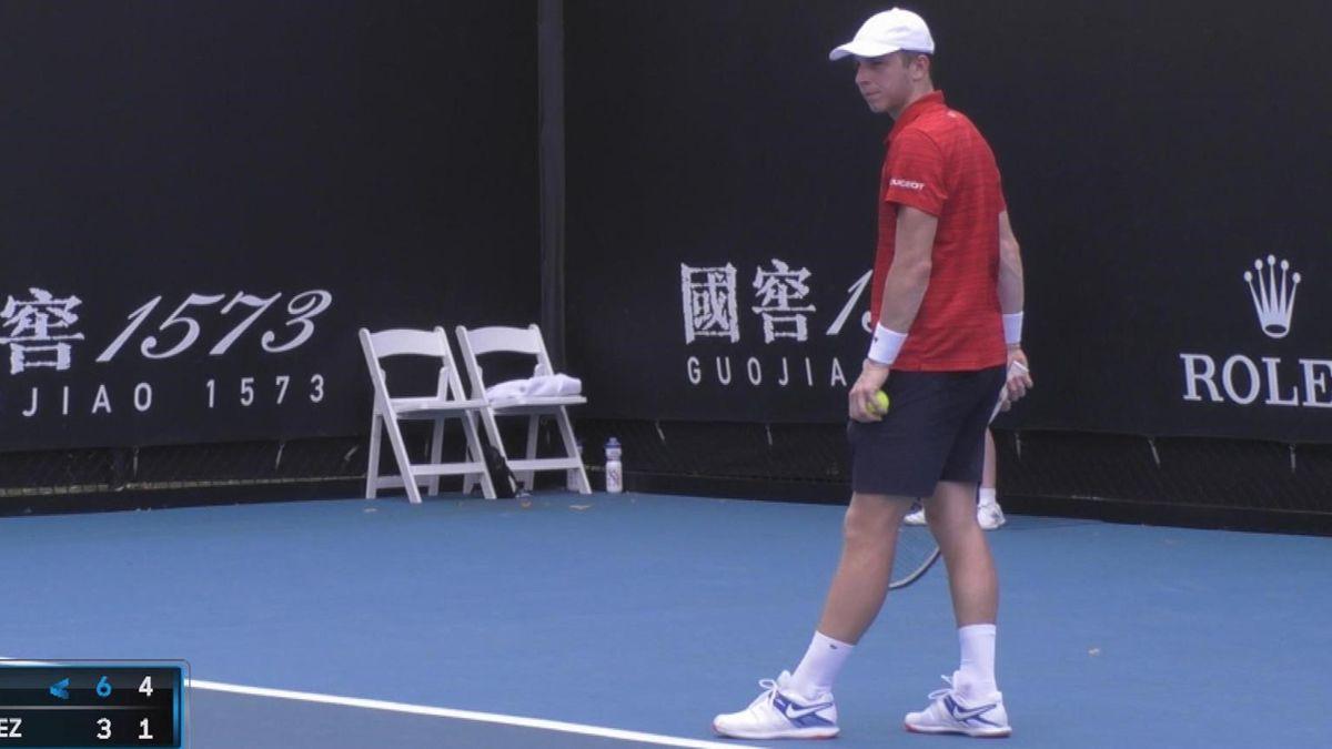 Australian Open Qualifying : Highlights Griekspoor - Garcia-Lopez