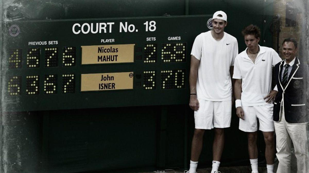 Nicolas Mahut e John Isner - Wimbledon 2010