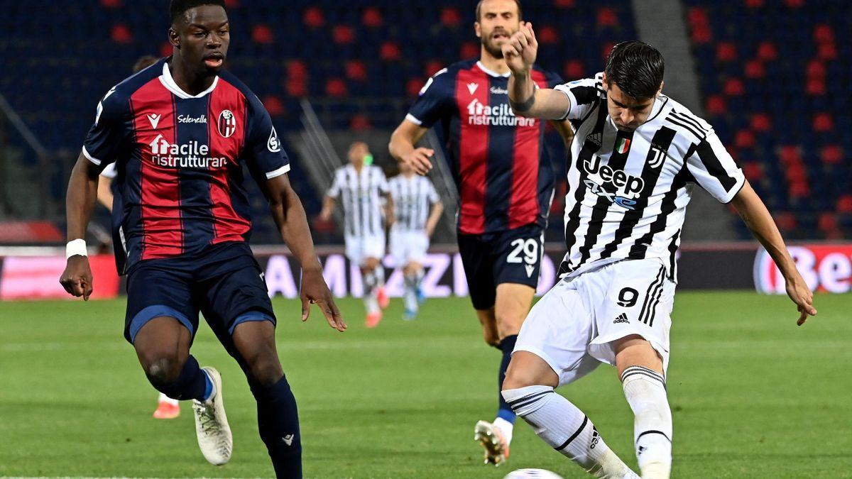 FC Bologna gegen Juventus Turin