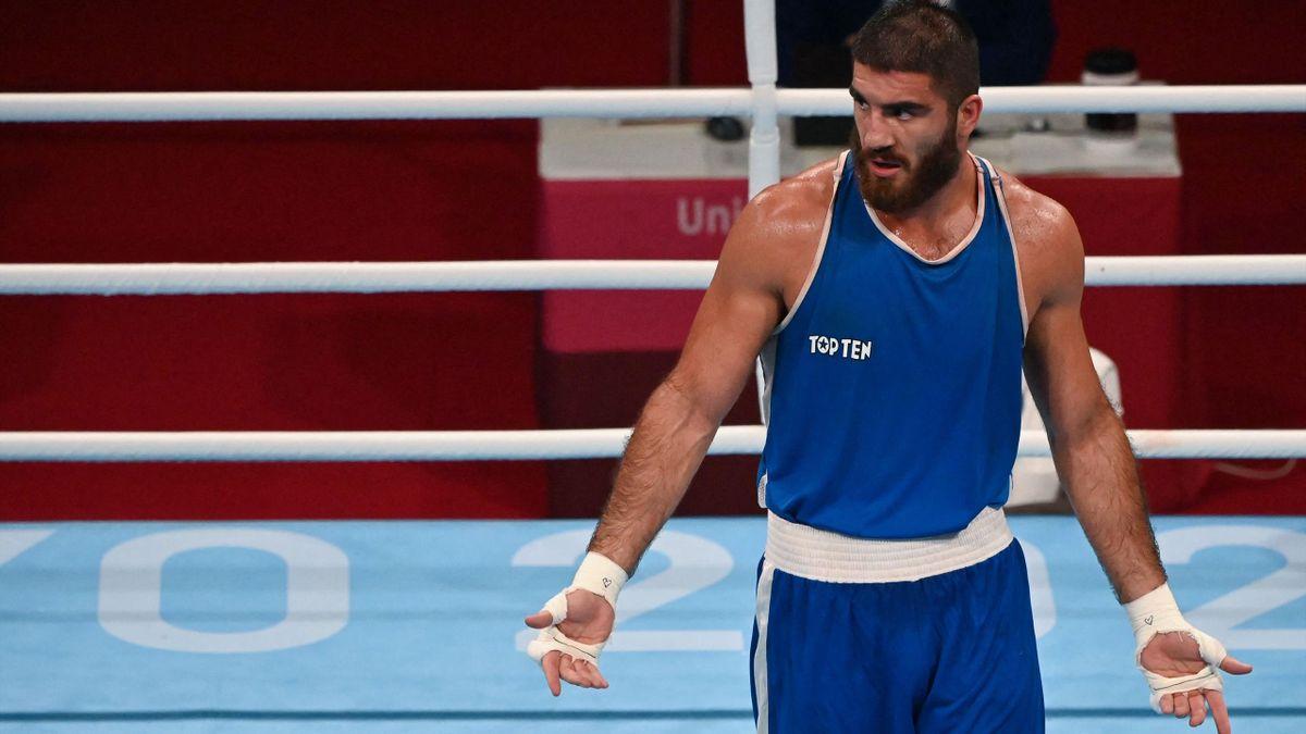 Versteht die Welt nicht mehr: Mourad Aliev bei Olympia