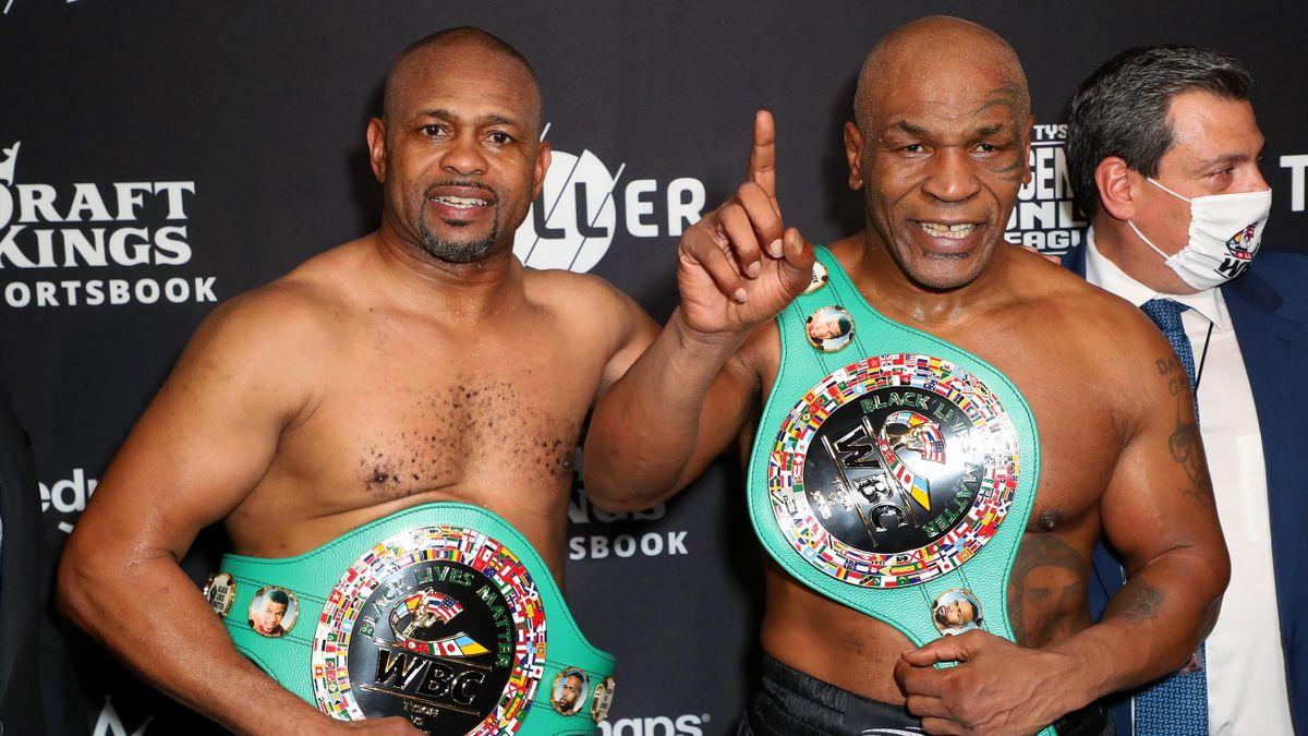 Roy Jones Jr. y Mike Tyson
