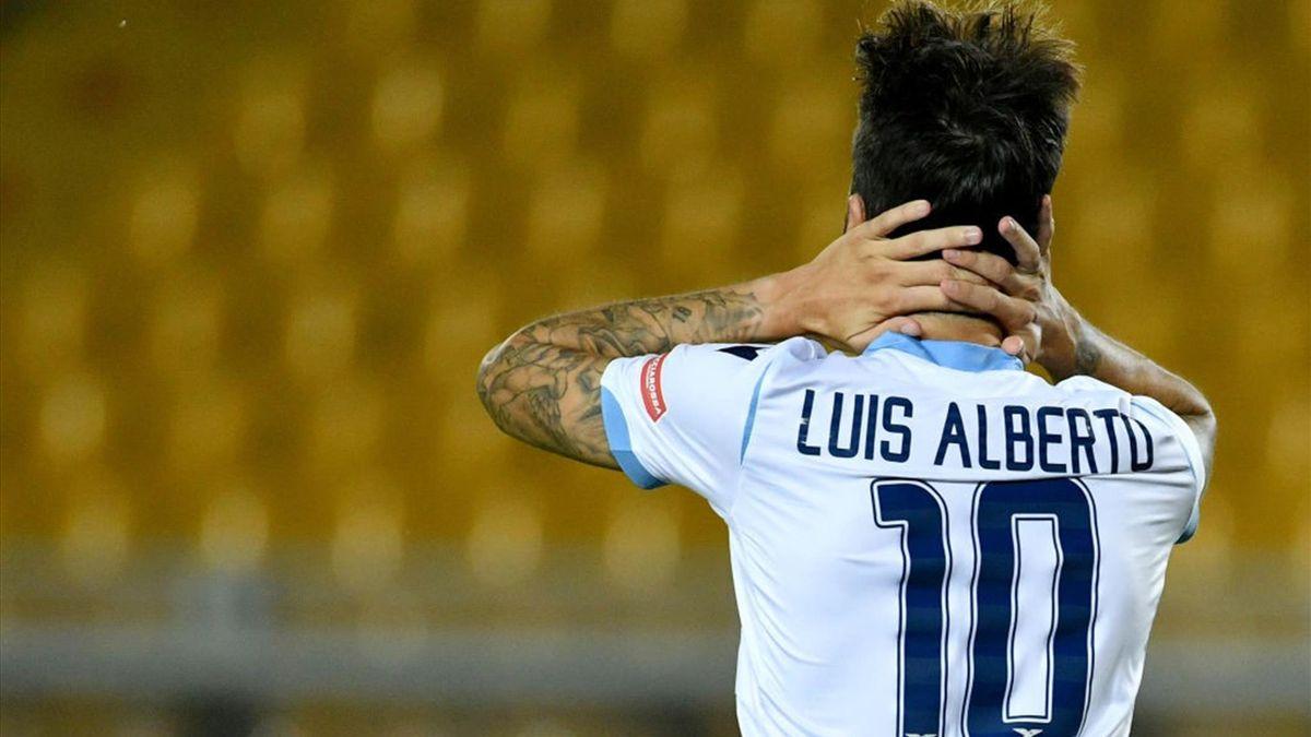 Luis Alberto - Lecce-Lazio - Serie A 2019/2020 - Getty Images