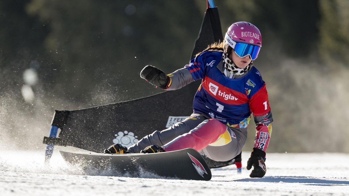 Raceboarderin Ramona Hofmeister raste zu Silber im Parallel-Slalom