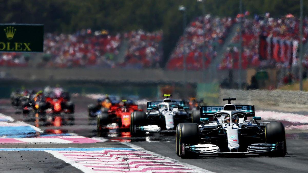 Formel 1 in Frankreich: nicht sehr aufregend