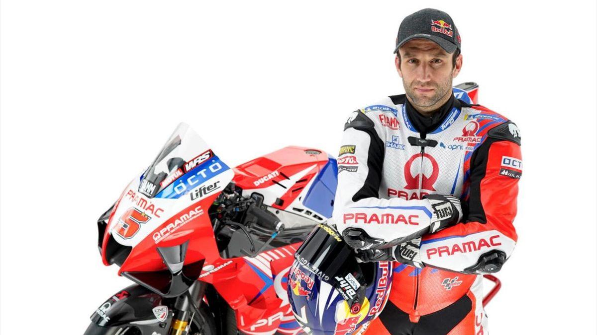 Johann Zarco sous les couleurs de sa nouvelle écurie, Ducati Pramac