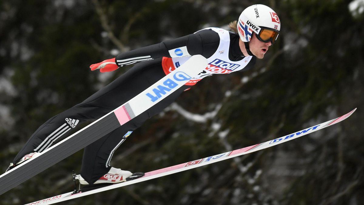 Daniel Andre Tande, champion du monde de vol à skis.