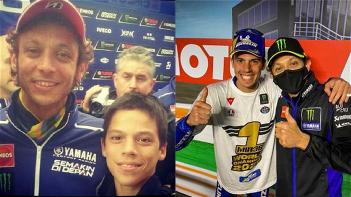 MotoGP, Joan Mir e Valentino Rossi
