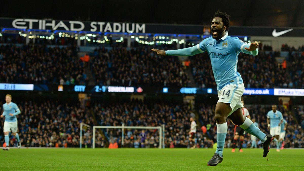 Wilfried Bony sous les couleurs de Manchester City