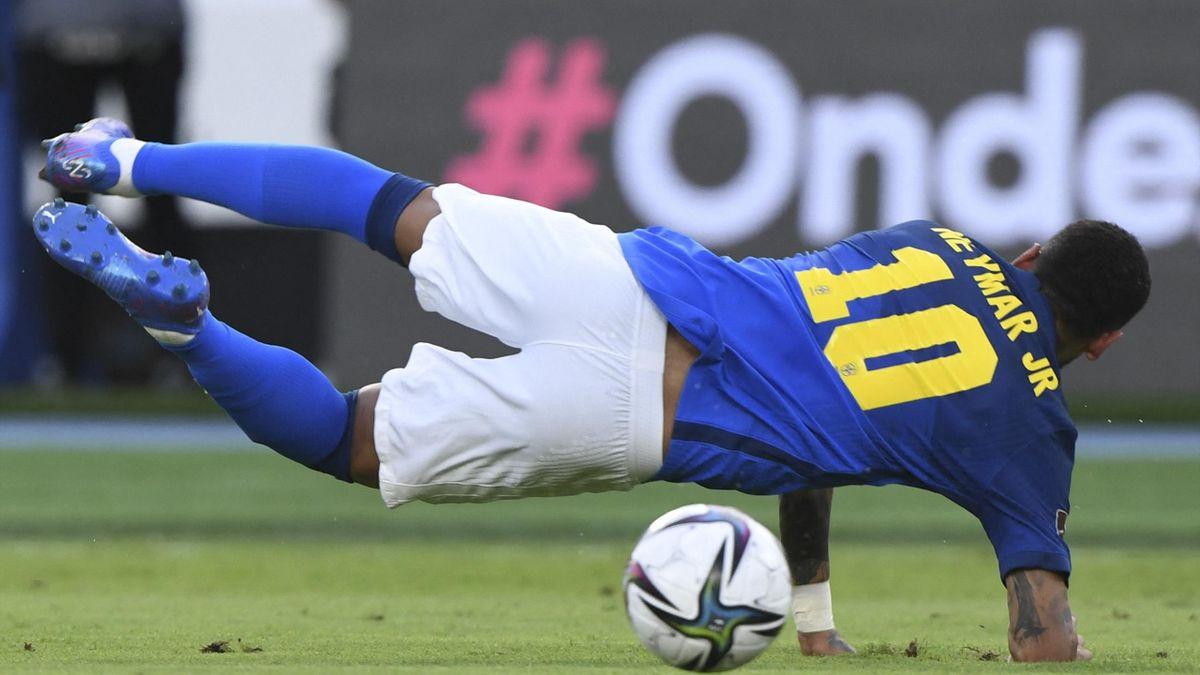 Neymar - fotó: Juan Barreto
