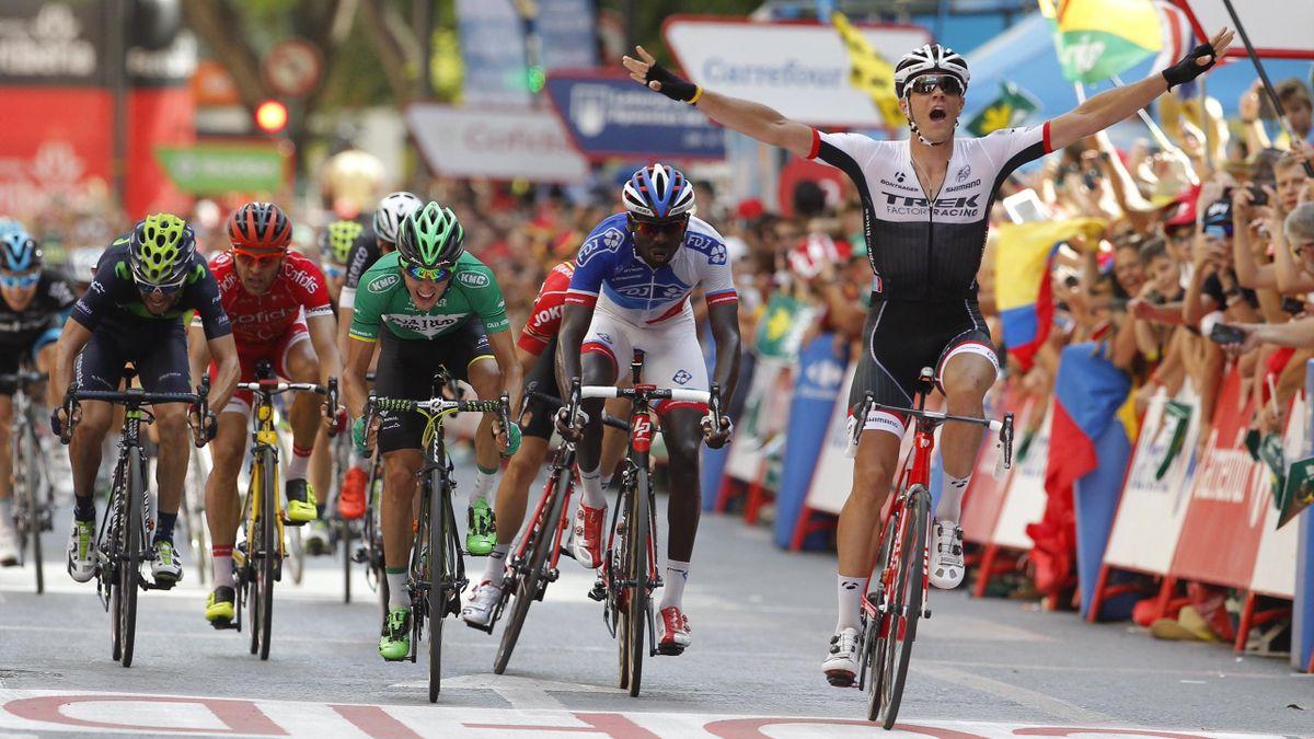 Jasper Stuyven lors de la 8e étape du Tour d'Espagne - 2015