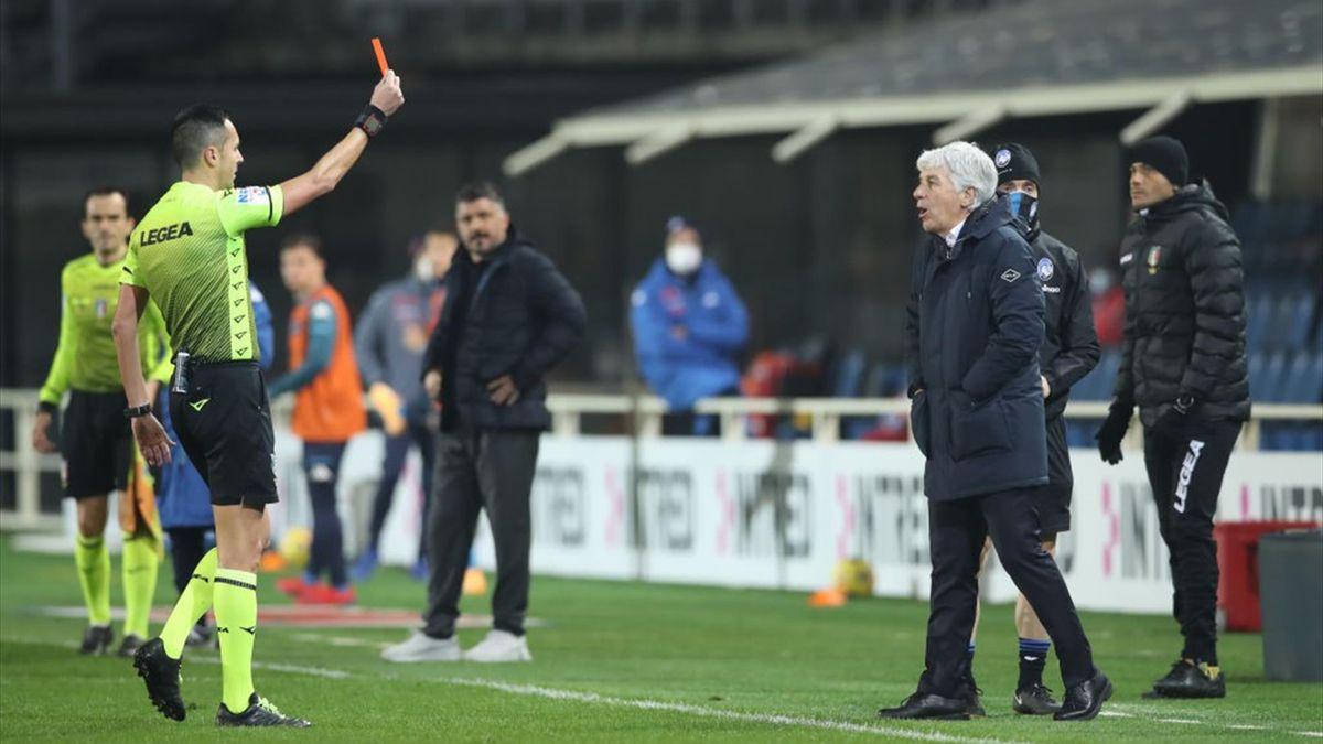 Gasperini - Atalanta-Napoli - Serie A 2020/2021 - Getty Images