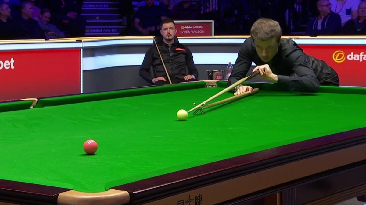Snooker Masters London : Kyren Wilson takes 2-2 as Lisowski loses the pink ball