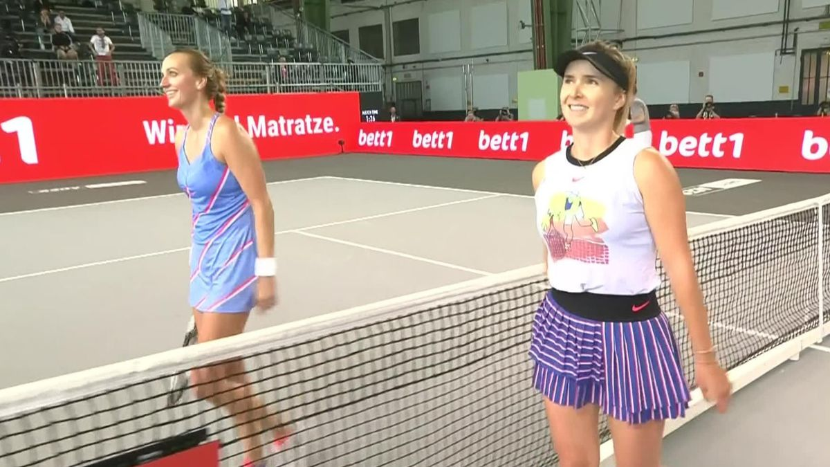 Tennis Exhibition Berlin: Elina Svitolina a învins-o pe  Petra Kvitova în finală