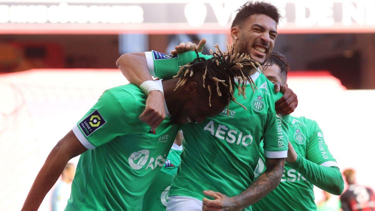 Saint-Etienne a gagné contre Nice / Ligue 1