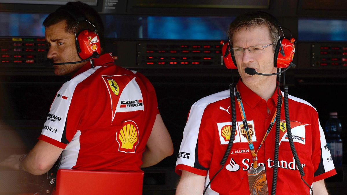 James Allison (Ferrari) - GP of Australia 2015