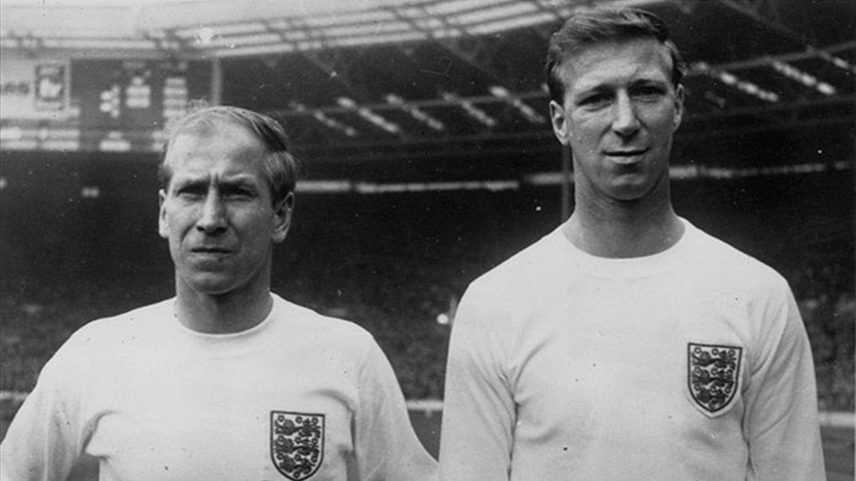 Sir Bobby and Jack Charlton