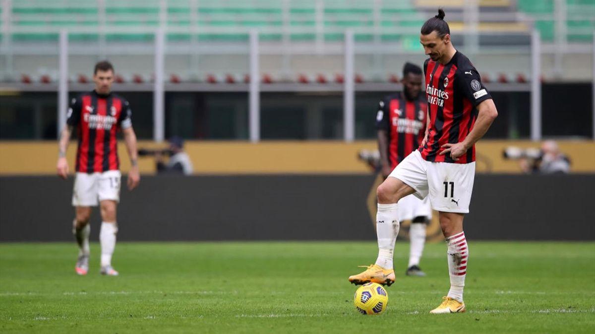 Zlatan Ibrahimovic e Alessio Romagnoli