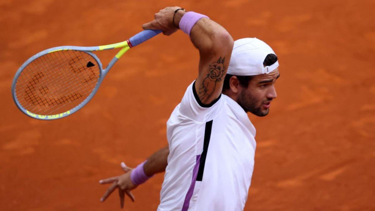 Matteo Berrettini - Masters 1000 Madrid 2021