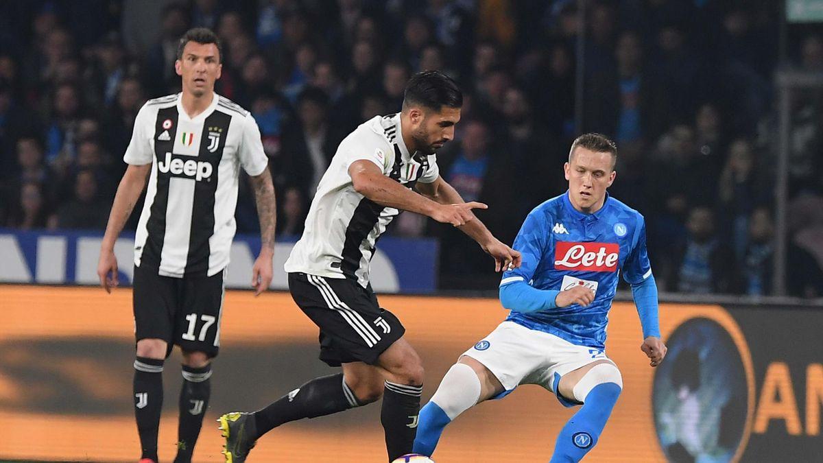 Piotr Zielinski, Emre Can, Napoli-Juventus, Getty Images
